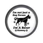 Boxer Mommy Wall Clock