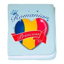 Romanian Princess baby blanket