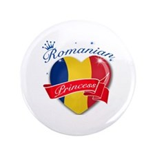 "Romanian Princess 3.5"" Button (100 pack)"
