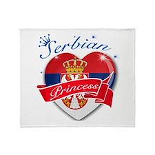 Serbian Princess Throw Blanket