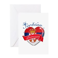 Serbian Princess Greeting Card