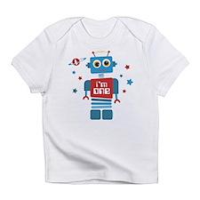 Robot 1st Birthday Infant T-Shirt