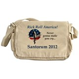 Rick Roll America Messenger Bag