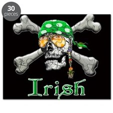 Irish Pirate Scull and Bones Puzzle