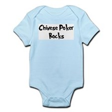 Chinese Poker Rocks Infant Creeper