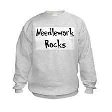 Needlework Rocks Sweatshirt
