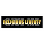 Give Me Religious Liberty Sticker (Bumper 10 pk)