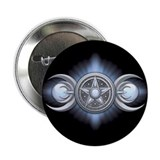 "Moonstone Triple Goddess 2.25"" Button (10 pack)"
