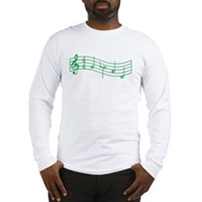 "SHAMROCK GREEN ""Mockingjay Whistle"" Long Sleeve T-"
