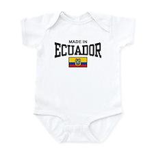Made In Ecuador Infant Bodysuit