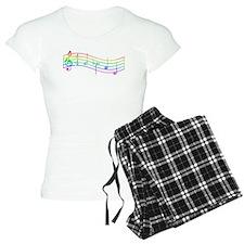 """Rainbow """"Rue's Whistle"""" Pajamas"""