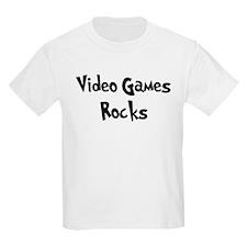 Video Games Rocks Kids T-Shirt