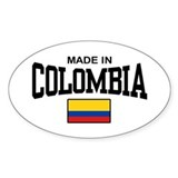 Made In Colombia Stickers