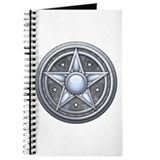 Silver Moonstone Pentacle Journal