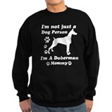 Doberman Mommy Jumper Sweater