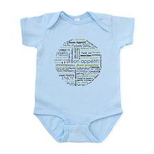 Bon appetit in other language Infant Bodysuit