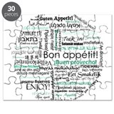 Bon appetit around the world Puzzle