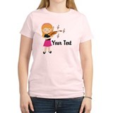 Personalized Violin Girl T-Shirt