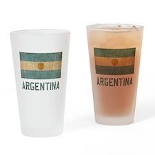 Vintage Argentina Drinking Glass