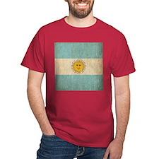 Vintage Argentina Flag T-Shirt