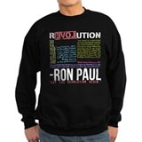 RON PAUL quotes Sweatshirt