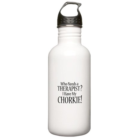 THERAPIST Chorkie Stainless Water Bottle 1.0L