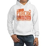 I Wear Peach 6.4 Uterine Cancer Jumper Hoody