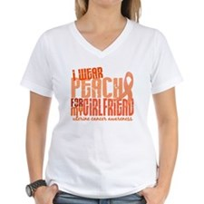 I Wear Peach 6.4 Uterine Cancer Shirt
