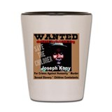 Wanted Joseph Kony Shot Glass