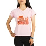 I Wear Peach 6.4 Uterine Cancer Performance Dry T-