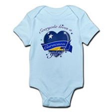 I heart Curacaon Designs Infant Bodysuit