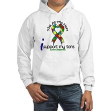 With All My Heart Autism Hoodie