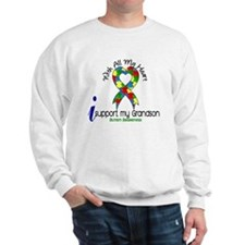 With All My Heart Autism Sweatshirt
