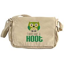 Angry owl Messenger Bag