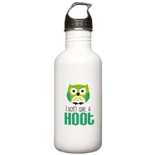 Angry owl Water Bottle