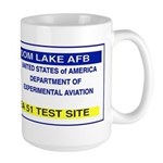 Area 51 Pass Large Mug