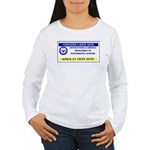 Area 51 Pass Women's Long Sleeve T-Shirt