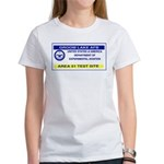 Area 51 Pass Women's T-Shirt