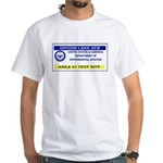 Area 51 Pass White T-Shirt