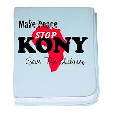 Stop Kony 2012 baby blanket