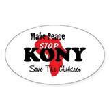 Stop Kony 2012 Decal