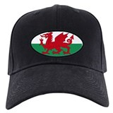 Welsh Red Dragon Baseball Hat