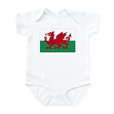 Welsh Red Dragon Infant Bodysuit