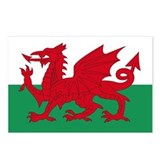 Welsh Red Dragon Postcards (Package of 8)
