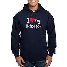 I LOVE MY Bichonpoo Hoodie