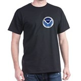 NOAA Black T-Shirt 2