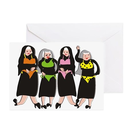 Catholic Nun Greeting Cards   Catholic Nuns Christmas Greeting Cards 6NKcX7mn