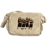 Catholic Nuns Christmas Messenger Bag