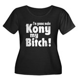 I'm Gonna Make Kony My Bitch Women's Plus Size Sco
