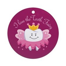 I Love The Tooth Fairy Ornament (Round)
